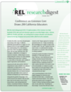 October 2012 REL West Research Digest Highlights Common Core State Standards